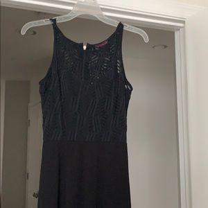 Material Girl Long Black Dress